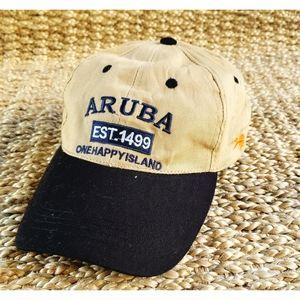 Aruba One Happy Island Adjustable Hat